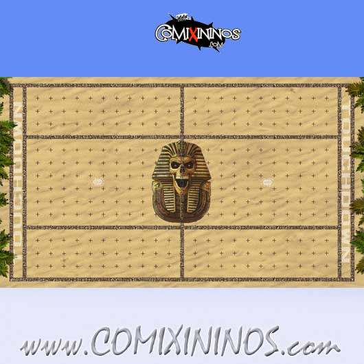 34 mm Egyptian Tomb Kings Plastic Gaming Mat NO Dugouts - Comixininos