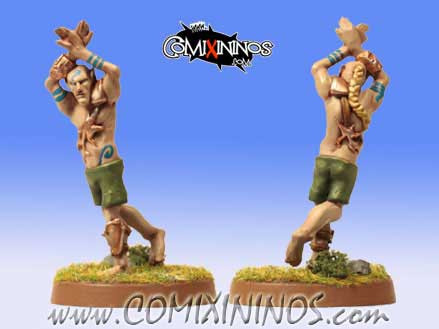 Elves - Catcher Savage Elf nº 2 - Gaspez Arts