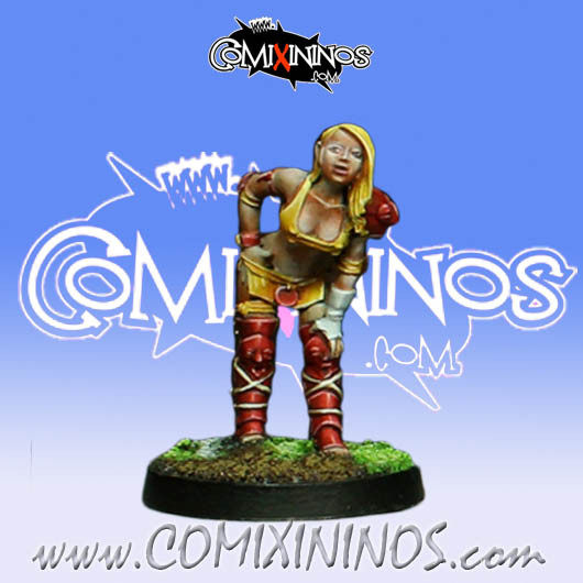 Amazons - Amazon Linewoman nº 1 - Willy Miniatures