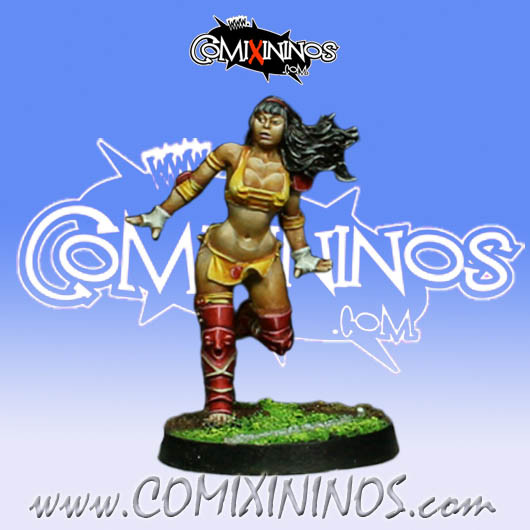 Amazons - Amazon Linewoman nº 2 - Willy Miniatures