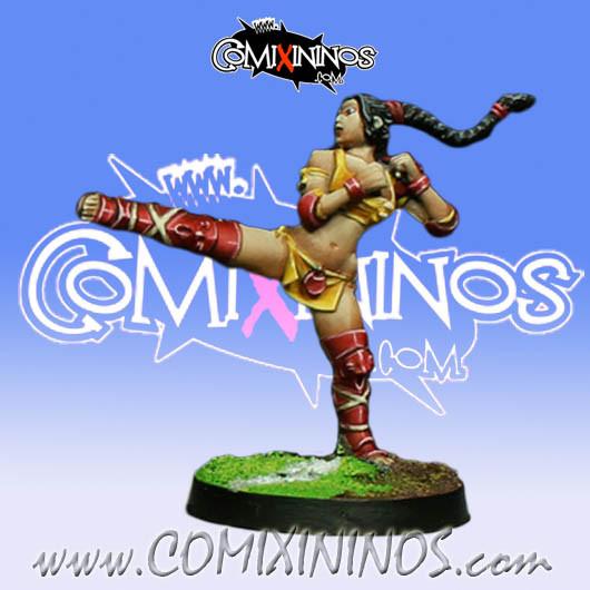 Amazons - Amazon Linewoman nº 8 - Willy Miniatures
