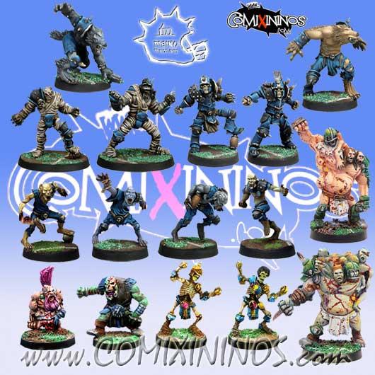 Undead / Necromantic - Super Combo Team of 16 Players - Meiko Miniatures