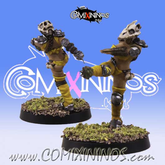Amazons - Amazon Blitzer nº 2 - SP Miniaturas