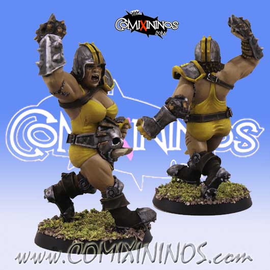 Big Guy - Female Ogre - SP Miniaturas