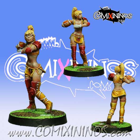 Amazons - Amazon Thrower nº 1 - Willy Miniatures