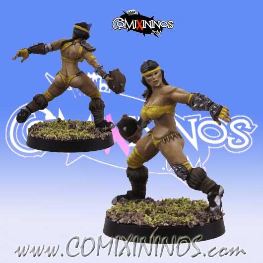 Amazons - Amazon Thrower nº 2 - SP Miniaturas