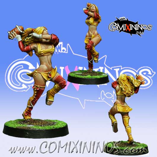 Amazons - Amazon Thrower nº 2 - Willy Miniatures