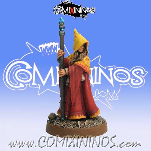 Wood Elves / Elves - Anirion Wood Elf Wizard - Reaper