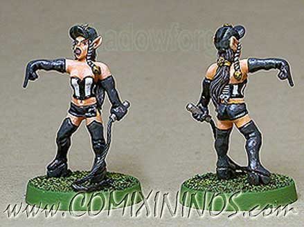 Dark Elves - Female Dark Elf Referee - Shadowforge
