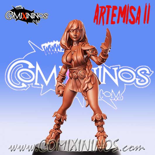 Amazons / Humans - Artemisa the Slayer nº 2 - RN Estudio