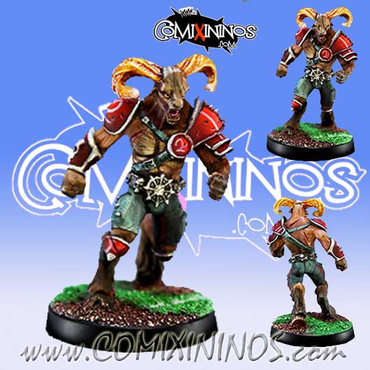 Evil - Beastman nº 2 - Willy Miniatures