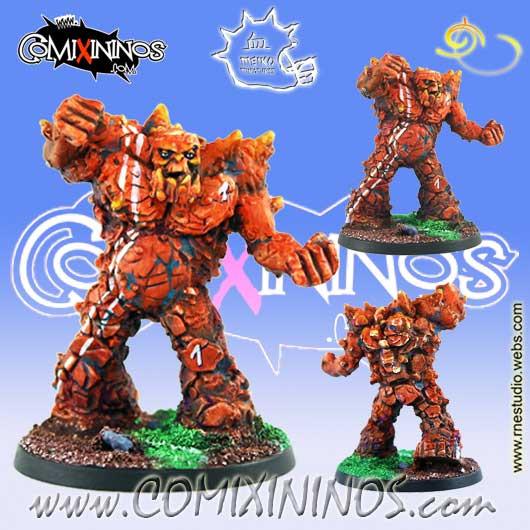 Big Guy - Rokko Earth Golem - Meiko Miniatures