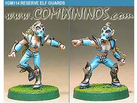 Wood / Pro Elves - Elf Blitzers Set of 2 - Shadowforge