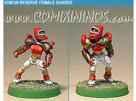 Amazons / Humans - Human Blitzers Set of 2 - Shadowforge
