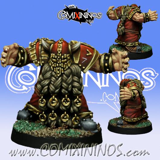 Dwarves - Dwarf Blocker nº 1 - SP Miniaturas