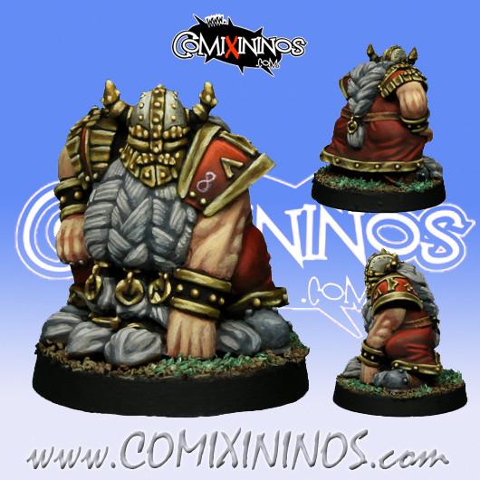 Dwarves - Dwarf Blocker nº 2 - SP Miniaturas