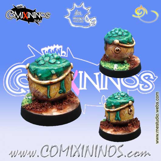 Halflings - Cauldron - Meiko Miniatures