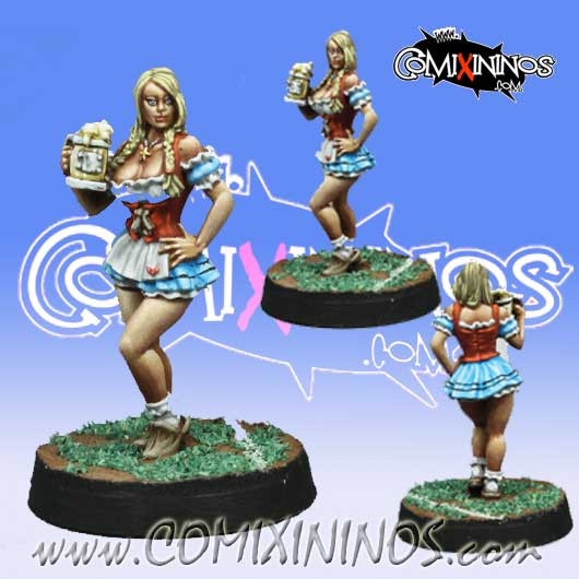 Bloodweiser Babe - Willy Miniatures