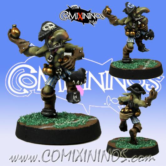 Goblins - Bomber Dribblesnat Star Player - Meiko Miniatures