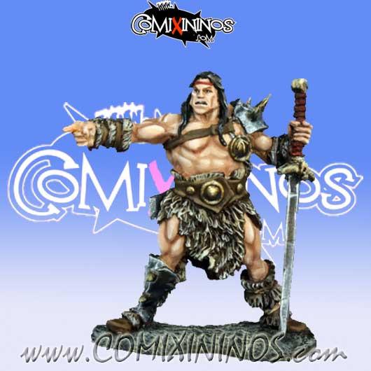 Norses / Humans - Cal Arath Barbarian Prince - Reaper