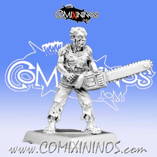 Undead / Necromantic - Zombie with Chainsaw - Reaper