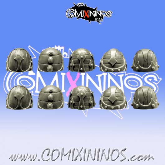 Changed Knights Shoulder Pads Set of 10 version 2 - SpellCrow