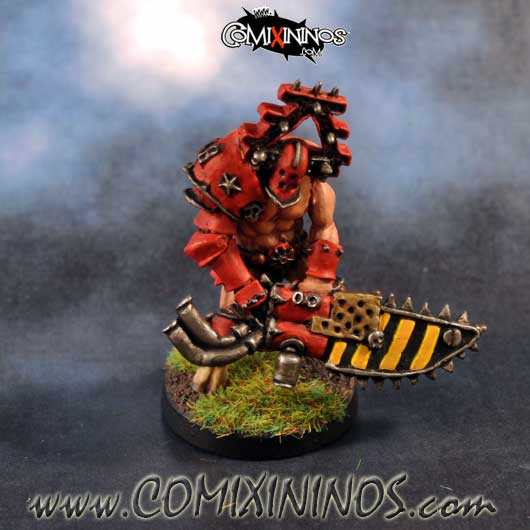 PAINTED Maxwell Chainsaw Evil Warrior Star Player