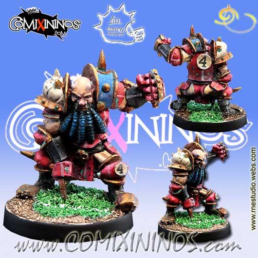 Evil Dwarves - Evil Dwarf Blocker nº 4  - Meiko Miniatures