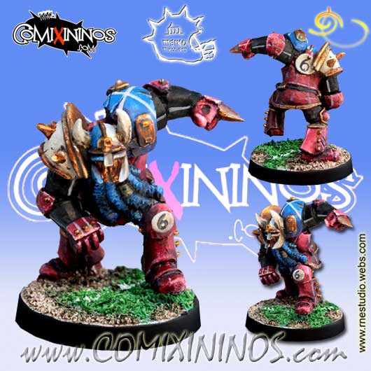 Evil Dwarves - Evil Dwarf Blocker nº 6  - Meiko Miniatures
