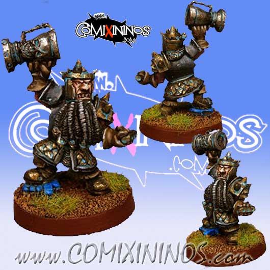 Evil Dwarves - Evil Dwarf Champion with Trophy - Fanath Art