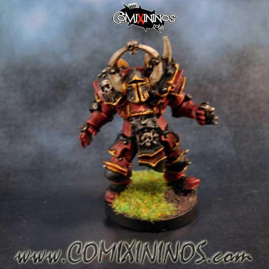 PAINTED Vorack Evil Warrior Star Player