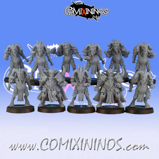 Evil - Team of 11 Players - Black Scorpion