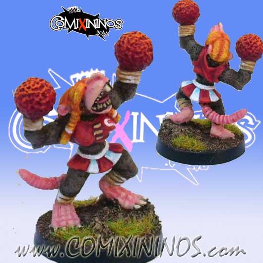 Ratmen - Rykar Ratmen Cheerleader - Meiko Miniatures