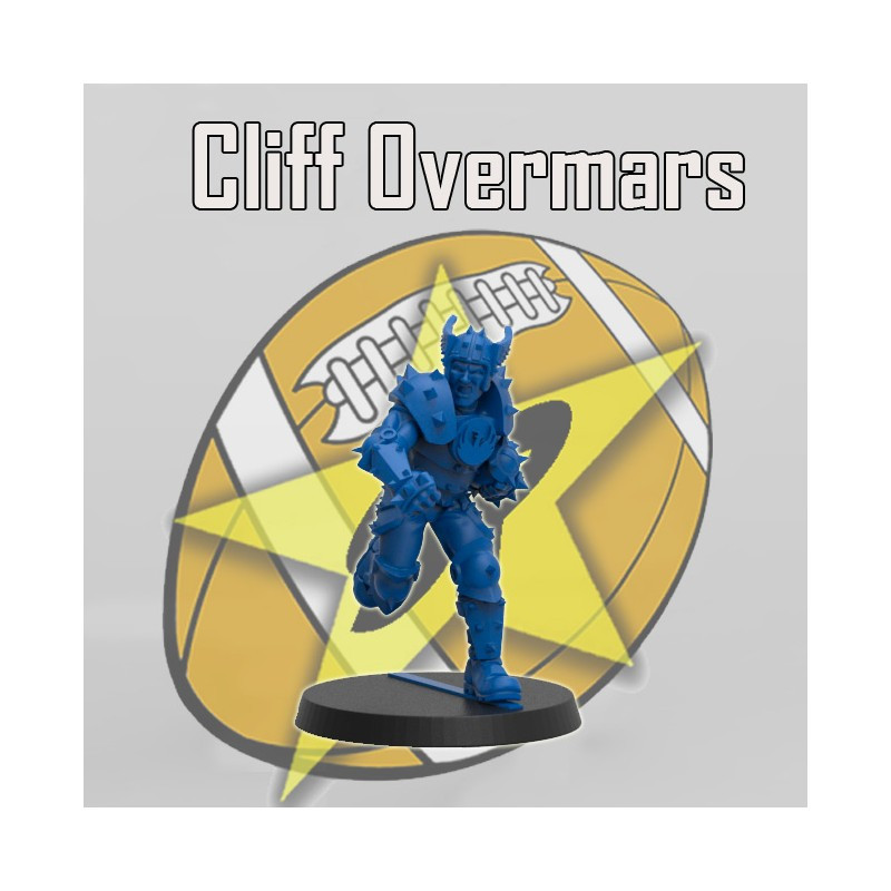 Humans - Cliff Overmars Star Player - SP Miniaturas