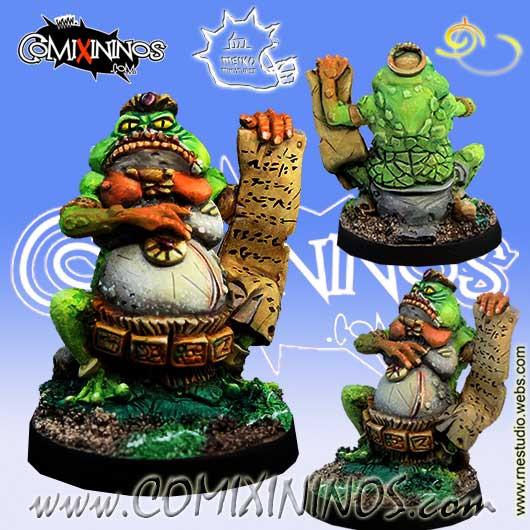 Lizardmen / Frogmen - Coach for Lizard and Frog Teams - Meiko Miniatures
