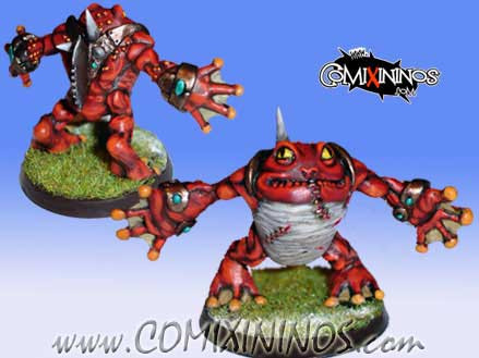 Frogmen - Croacxigor Big Guy - Mano di Porco