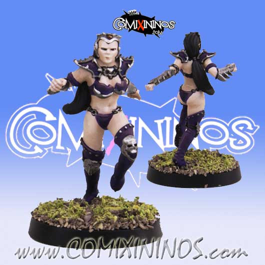 Dark Elves - Rosanna Dark Elf Star Player - SP Miniaturas