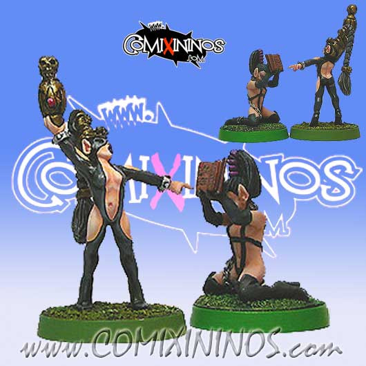 Dark Elves - Dark Elves Seer with Acolyte Set of 2 - Shadowforge