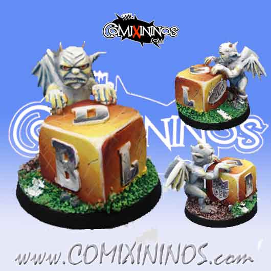 Discontinued Demon with Dice Desterrados 2012 - Willy Miniatures