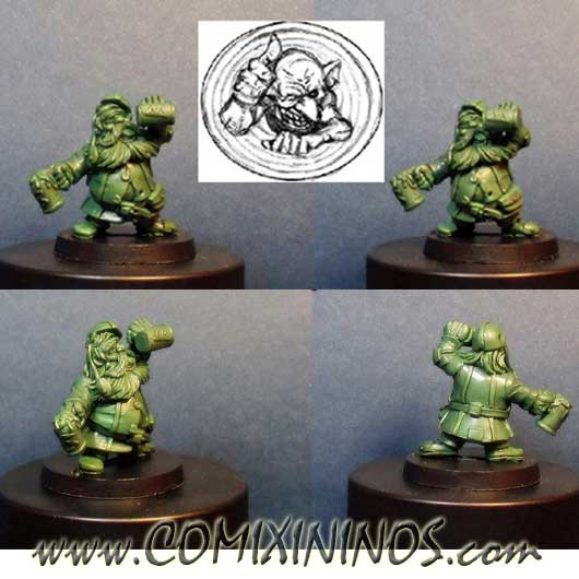 Dwarves - Drunk Dwarf - Goblin Guild