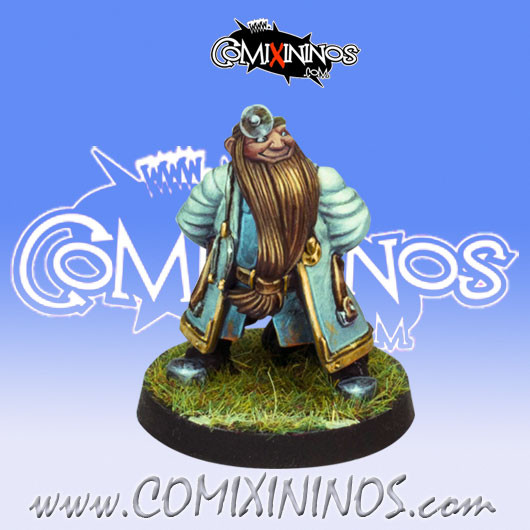 Dwarves - Dwarf Doctor Apothecary - Willy Miniatures