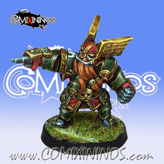 Dwarves - Dwarf Blitzer nº 1 - Willy Miniatures