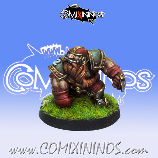 Dwarves - Dwarf Blocker nº 2 - Willy Miniatures