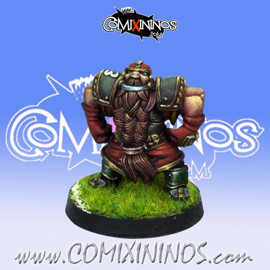 Dwarves - Dwarf Blocker nº 3 - Willy Miniatures