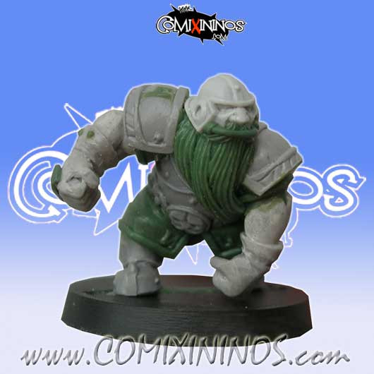 Dwarves - Dwarf Blocker nº 4 - Willy Miniatures