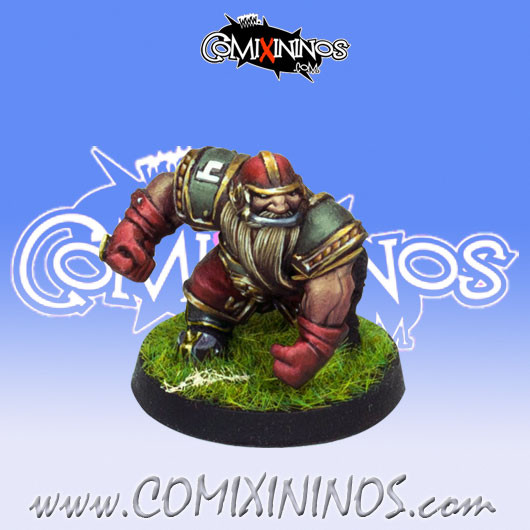 Dwarves - Dwarf Blocker nº 4 - Willy Miniatures
