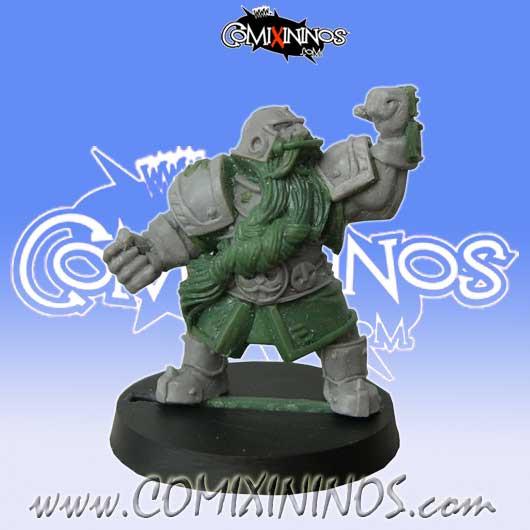 Dwarves - Dwarf Blocker nº 5 - Willy Miniatures