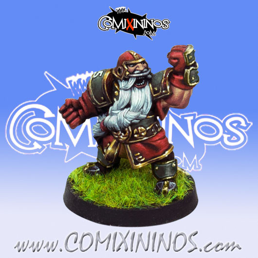 Dwarves - Dwarf Blocker nº 5 - Willy Miniatures
