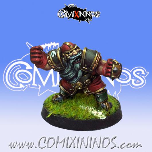 Dwarves - Dwarf Blocker nº 6 - Willy Miniatures
