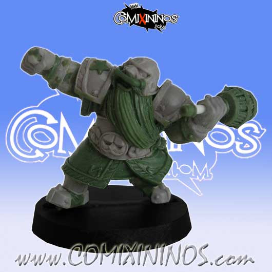 Dwarves - Dwarf Bomber Star Player - Willy Miniatures